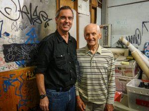 Neil Ennis and Dr Peter Pohlner